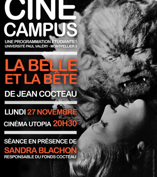 CINÉ CAMPUS #1 : La Belle et la Bête, lundi 27 novembre