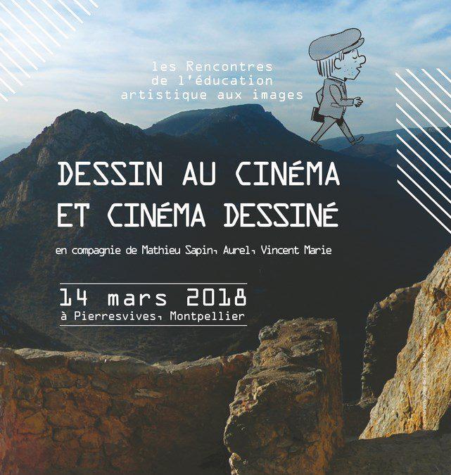 Dessin et cinéma, les Rencontres de l'éducation artistique aux images