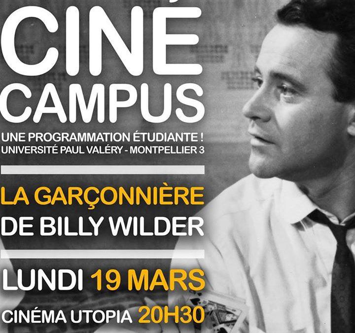 Ciné Campus #6 : « La Garçonnière » de Billy Wilder : Lundi 19 mars