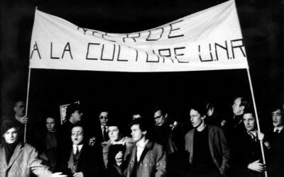 Il y a 50 ans : 18 mars 1968 : manifestation à la Cinémathèque française en soutien à Henri Langlois