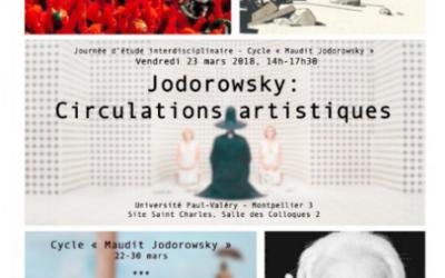 Vendredi 23 mars : Journée d'étude «Jodorowsky : Circulations artistiques»