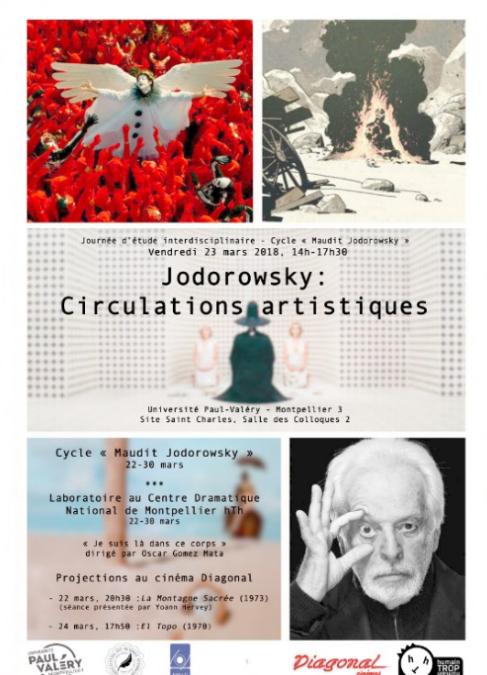 "Vendredi 23 mars : Journée d'étude ""Jodorowsky : Circulations artistiques"""