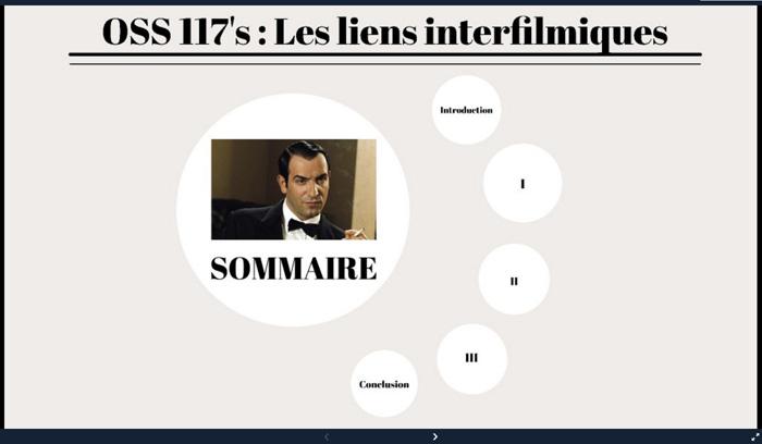 OSS 117 : présentation des liens interfilmiques