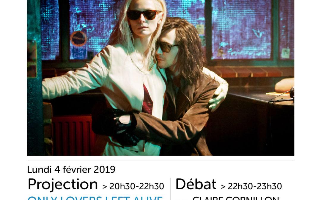 Ciné Campus : Only Lovers Left Alive (J. Jarmusch, 2013), lundi 4 février