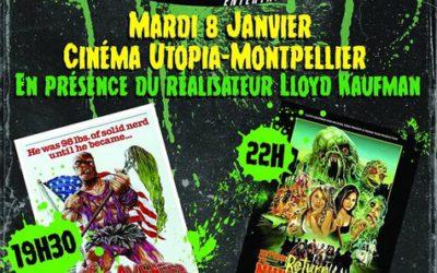8-9 janvier : Soirée Troma / Leçon de cinéma du réalisateur Lloyd Kaufman