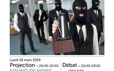 Ciné-campus (18 mars) : Sound of Noise