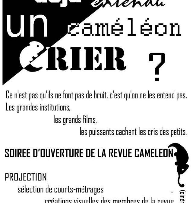 Soirée de Lancement de la Revue Caméléon