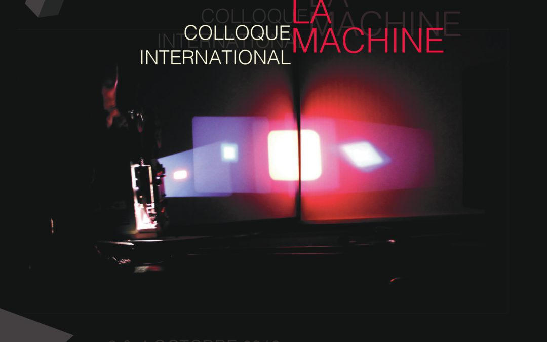 Colloque L'Art tout contre la machine (3-4 octobre à Montpellier)
