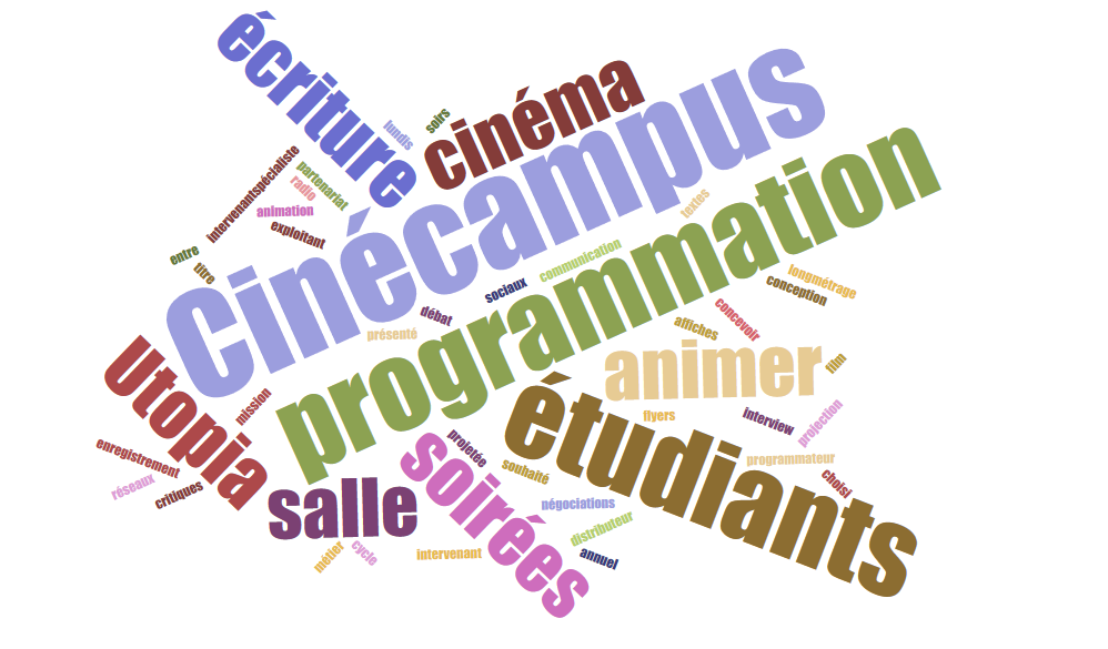 Programmation Ciné-campus 2019-2020