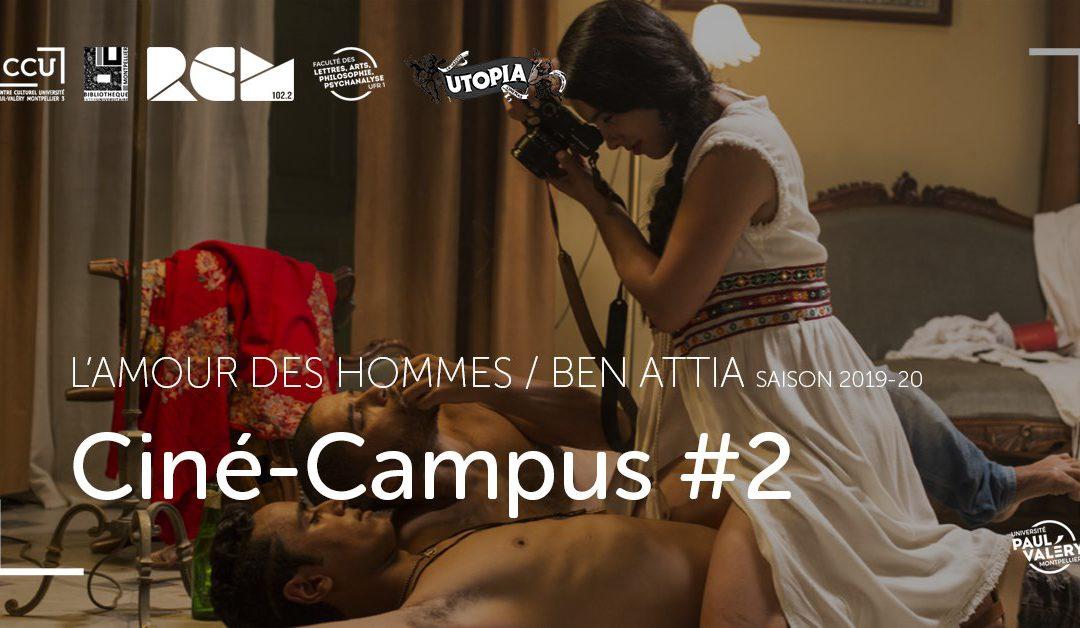 Ciné-Campus #2 : L'amour des hommes (Mehdi Ben Attia, 2017) – lundi 3 février
