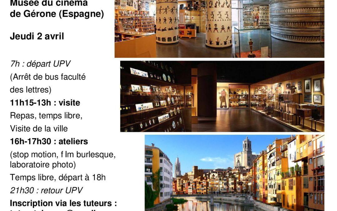 (ANNULÉ) Ouverture des inscriptions pour le voyage à Gérone