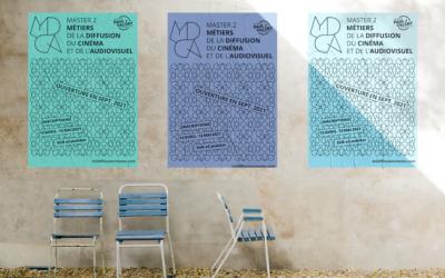 Ouverture des inscriptions au (nouveau) M2 «Métiers de la Diffusion du Cinéma et de l'Audiovisuel» (MDCA)